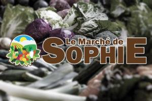 Logo de l'épicerie «Le Marché de Sophie»