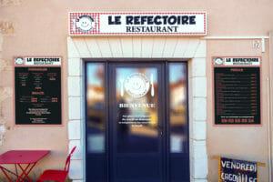 habillage facade «Le Refectoire»